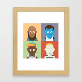 Caretos Framed Art Print