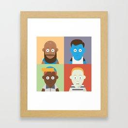 Caretos Framed Art Print