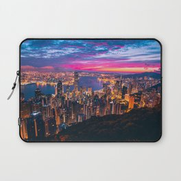 Sunset City (Color) Laptop Sleeve