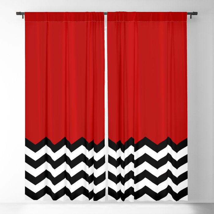 Twin Peaks - The Red Room Blackout Curtain