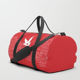 Wings of Love - Red Duffle Bag