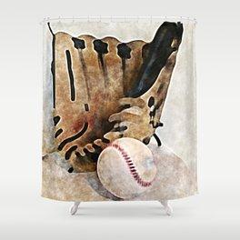 Baseball Dreams 2 Shower Curtain