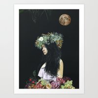 serenity Art Prints featuring Serenity by Melissa Hartley