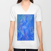 wizard V-neck T-shirts featuring Wizard by InSight Out
