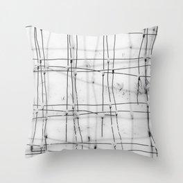 Winter Weave Throw Pillow
