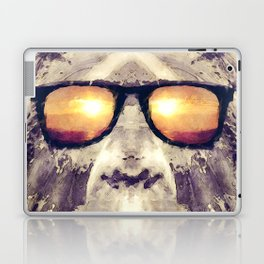 Bigfoot In Shades Laptop & iPad Skin