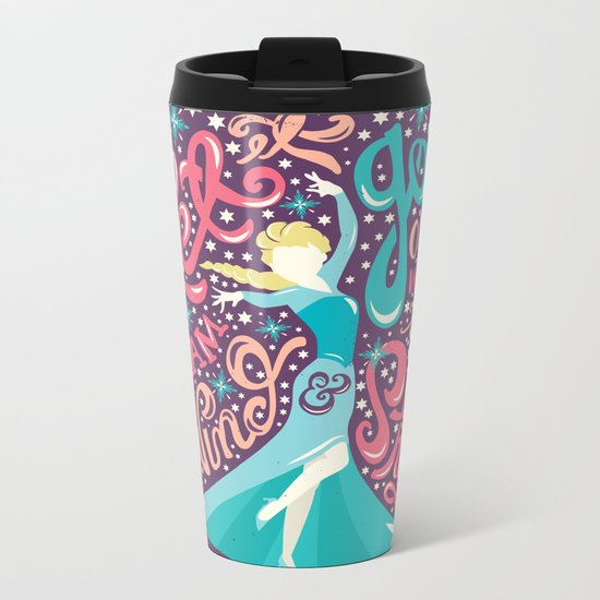 Snow Queen Metal Travel Mug