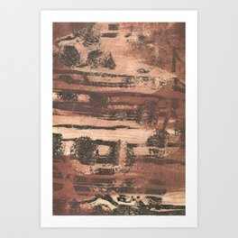 Printmaking 8 Art Print