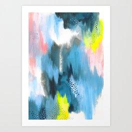 Decided Art Print