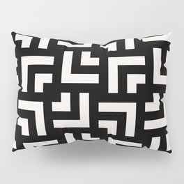 Bold geometric pattern - Stripe Tile Pillow Sham