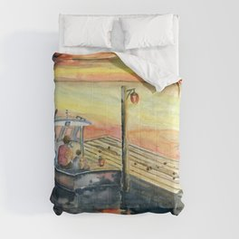 A Delightful Evening Comforters