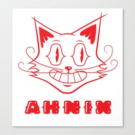 Creeper Cat Canvas Print