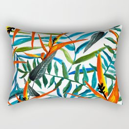 Exotic nature and flowers Rectangular Pillow