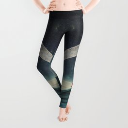 Guided by Comets Leggings