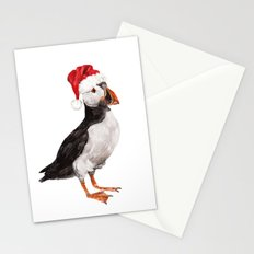 Christmas Puffin Stationery Cards