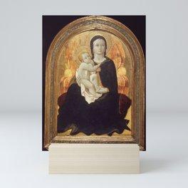 Sano di Pietro - Madonna of humility Mini Art Print