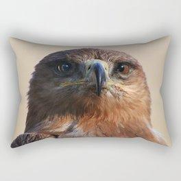 Tawny Eagle Rectangular Pillow