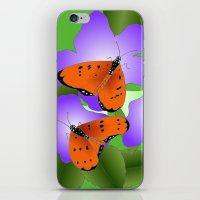coasters iPhone & iPod Skins featuring Tawny Coasters by Lakshmi Gosyne