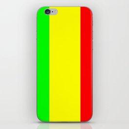 Flag of mali 2 -mali,malien,malienne,malian,bamako,tombouctou,timbuktu,sikasso,mopti,mande iPhone Skin