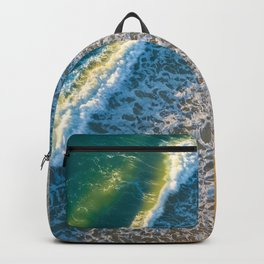 Waves on The California Coast Aerial Nature Photography Backpack