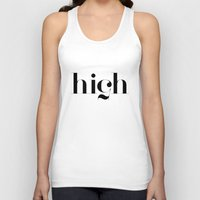typography Tank Tops featuring Typography by David
