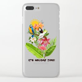 It's Holiday Time! Clear iPhone Case