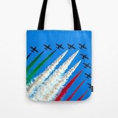 Frecce Tricolori Tote Bag