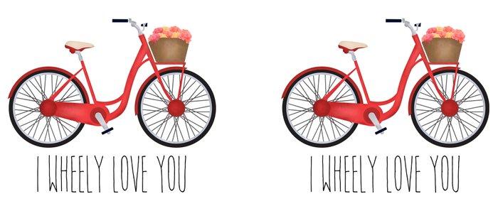 I Wheely Love You Coffee Mug