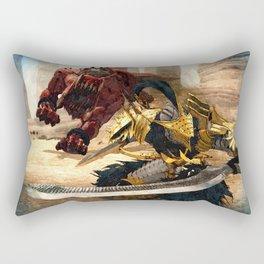 Knight - Beast Rectangular Pillow