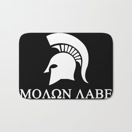 Sparta-molon-labe Bath Mat
