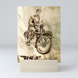 BSA - Vintage Poster Mini Art Print