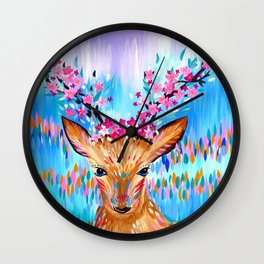 Woodland Creature Wall Clock