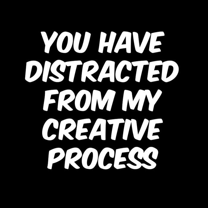 Creative Process Duvet Cover