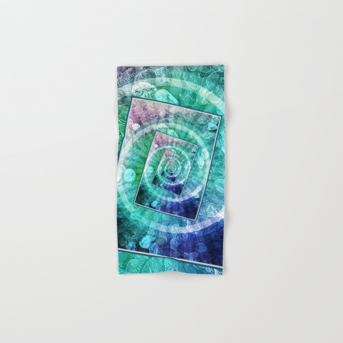 Spinning Nickels Into Infinity Hand & Bath Towel