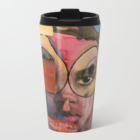 I feel resentful Metal Travel Mug