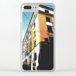 The Orange Building Clear iPhone Case
