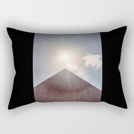 Sun and Pyramid Rectangular Pillow