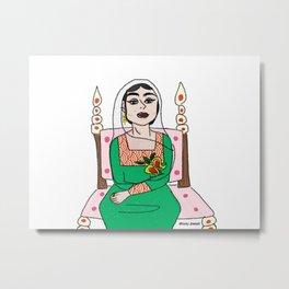 strong gulf lady Metal Print