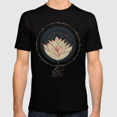 Lotus LARGE Black Mens Fitted Tee