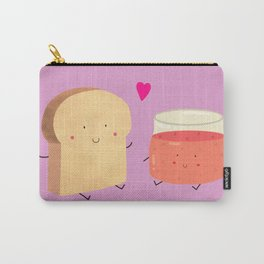 Bread loves jam Carry-All Pouch