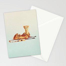 Cheetah 2 Stationery Cards
