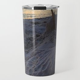 Sandcastle Sunset Travel Mug