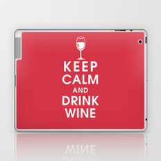 Keep Calm and Drink Wine Laptop & iPad Skin