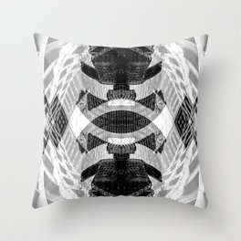 Abstract #2 College and Yonge Throw Pillow