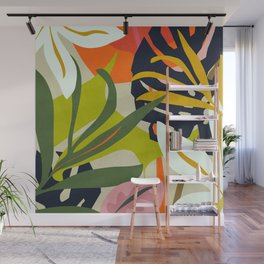 Jungle Abstract 2 Wall Mural