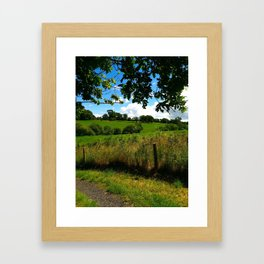 Irish Field Framed Art Print