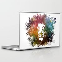 the lion king Laptop & iPad Skins featuring Lion King by jbjart