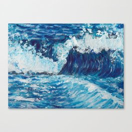 Crest of a Wave Canvas Print