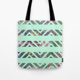 tribal florals Tote Bag