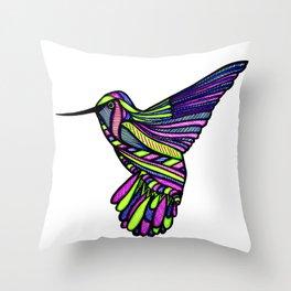 Hum-Humming Along Throw Pillow